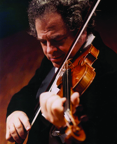 Image of Itzhak Perlman playing the violin