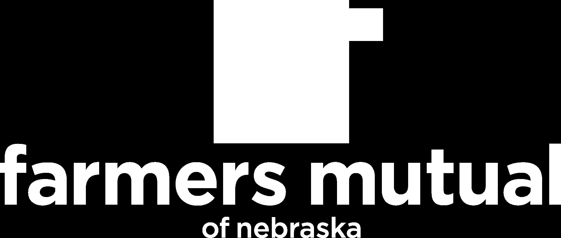 Farmers Mutual shield with Farmers Mutual of Nebraska written under it.