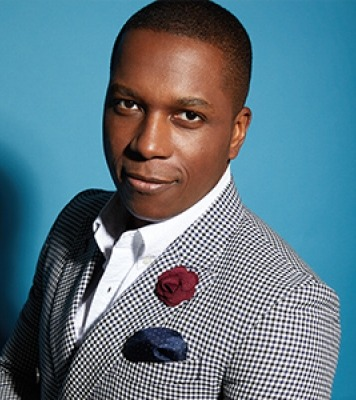 Leslie Odom, Jr. at the Lied Center for Performing Arts, October 5, 2018.