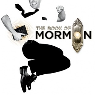 The logo for The Book of Mormon