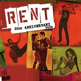 RENT at the Lied Center for Performing Arts, March 1-2, 2019
