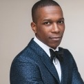Leslie Odom Jr. at the Lied Center for Performing Arts, October 5, 2018.