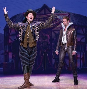 Something Rotten at the Lied Center for Performing Arts, April 26-27, 2019.