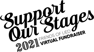 Support Our Stages logo