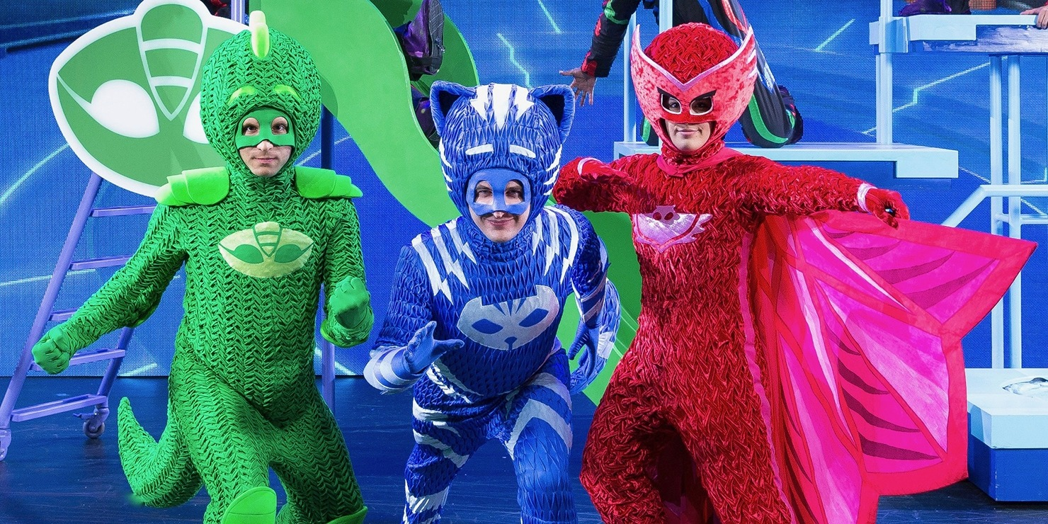 pj masks live time to be a hero lied center for performing arts