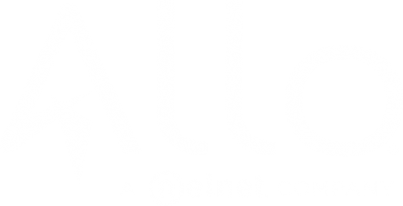 Allo Logo in white.